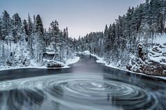 Myllykoski (Ville Airo) Tags: myllykoski kuusamo finland suomi landscape villeairo longexposure winter january