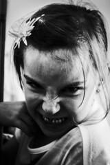 Childish (Matthew Crake) Tags: childish family blackandwhite meanface portriat kids