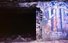 sauerkraut cave (anna0livia) Tags: louisville ky kentucky tomsawyerstatepark kentuckystatepark sauerkrautcave cave decay abandoned graffiti film pentaxk1000 revolog revologkolor