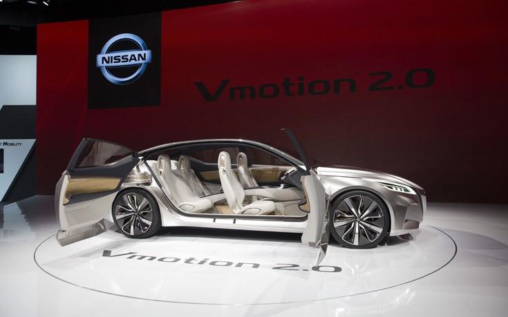 Η Nissan δείχνει το μέλλον με το Vmotion 2.0