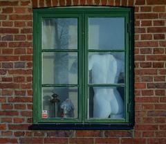 Window art (frankmh) Tags: window sculpture art kullagunnarstorp helsingborg skåne swedenm outdoor