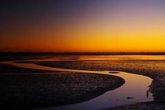 Sunrise  - Avon Heathcote estuary (Maureen Pierre) Tags: sunrise colour landscape patterns waves cloudsstormssunsetssunrises