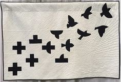Murmuration Minuend (Fred-qpa) Tags: murmuration minuend quilting patchwork appliqué wicker furniture paradise outdoor