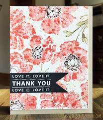 Penny Black inc. - Watercolored Poppies (alexandra s.m.) Tags: watercoloreffet distressmarkers distressink poppies coquelicots stamping tampondefond