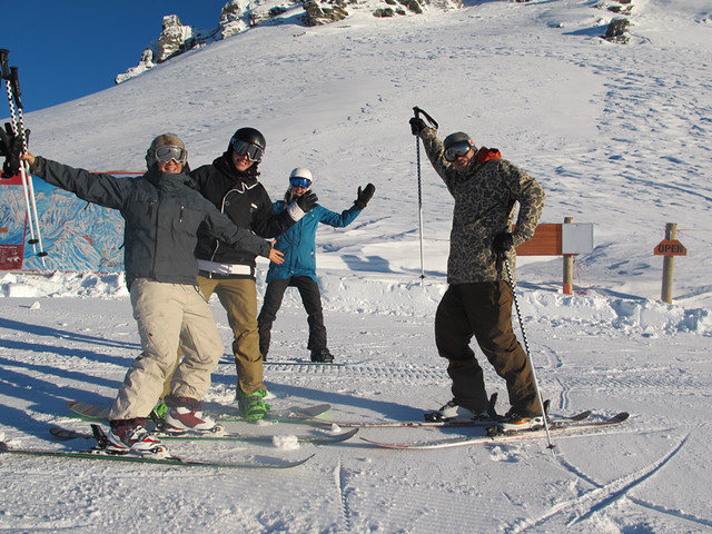 Opening Day, Treble Cone NZ (27 June 2013)