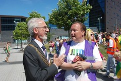 """Lord Mayor of Plymouth at Plymouth Pride Parade 2015 • <a style=""""font-size:0.8em;"""" href=""""http://www.flickr.com/photos/66700933@N06/20009550523/"""" target=""""_blank"""">View on Flickr</a>"""