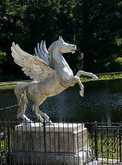 Winged Horse at Powerscourt Estate (AllyJay2006) Tags: ireland horse powerscourt wicklow horsestatue wingedhorse