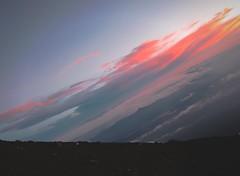 """Horizon Variations"" (bicyclistabroad.com) Tags: morning sky sunlight mountain japan clouds landscape volcano tokyo fuji hiking horizon atmosphere mount fujisan skewed"