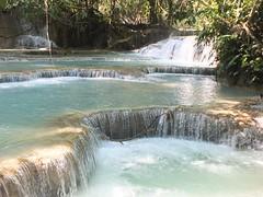 Kuang Si Falls (twiga_swala) Tags: nature landscape waterfall scenery natural si falls pools waterfalls laos travertine emerald tourits luangprabang wonders attractions kuang luang chutes plunge prabang xi phrabang kuangsi louangphrabang louangprabang louang kuangxi