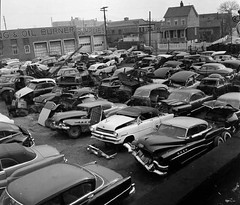Junkyard, 1950s (cruisemagazine) Tags: road people man cars that for this drive see photo back nice long do post image you tell none five or internet some floating before it actually an here been we used have just be what while ago around years once junkyard safe these then their stories bet plenty could has anyway own either unidentified context themselves its lasted tipin fourlinks itd