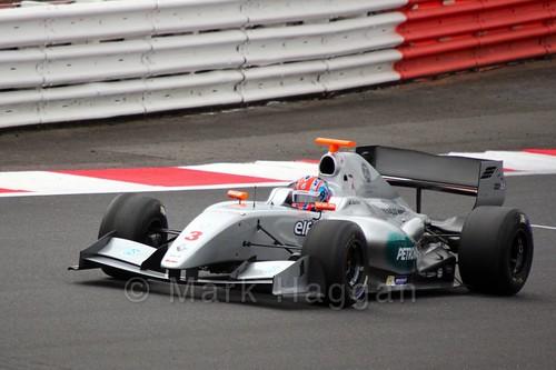 Jazeman Jaafar in Saturday's Formula Renault 3.5 Race at Silverstone