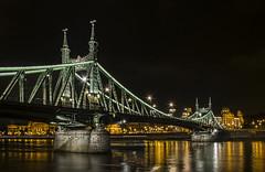 Budapest (alopezca37) Tags: bridge night nightshot budapest