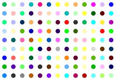 Phenazepam (Robert Hirst - Official) Tags: street nyc newyorkcity pink blue light red urban orange brown white streetart newyork abstract black color green london art fashion yellow wall museum modern self painting circle stencil paint artist gallery arte purple handmade manhattan contemporary damien spot exhibition polka dot spots dots metropolitan polkadot metropolitanmuseumofart hirst royalacademy benzodiazepine spotpainting roberthirst