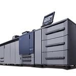 デジタルカラープレスの写真