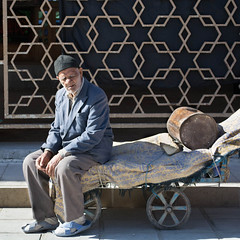 Too tired chasing life (mehrzad ansari pour) Tags: street people man iran oldman bazaar ایران کرمان kerman بازار مردم ارگ خیابان 500px گاری ifttt