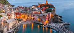 Vernazza Colour - Italy, Cinque Terre (Nomadic Vision Photography) Tags: travel italy beauty rural colourful vernazza viewpoint picturesque cinqueterra iconic naturepark jonreid tinareid nomadicvisioncom