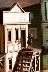 I got 'im Sheriff! (28mm Miniatures) Tags: miniatures cowboy 28mm western wildwest tabletop deadmanshand lawmen artizandesigns 4ground