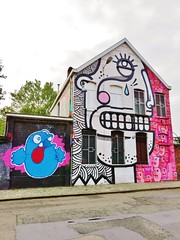 Nol / Joachim & Ox-Alien / Antwerpen - 8 okt 2015 (Ferdinand 'Ferre' Feys) Tags: streetart graffiti belgium belgique belgi urbanart antwerp graff joachim antwerpen anvers graffitiart artdelarue nol urbanarte oxalien