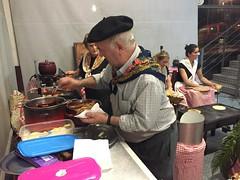 San Sebastian Grastronomika 2015 (QUESERIA LA ANTIGUA) Tags: de san sebastian queso moreno ka oveja paradores goyo lantigua fuentesauco gastronomika