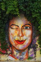 Wall Art (cnbybl) Tags: street art 35mm turkey graffiti sony bozcaada emount sel35