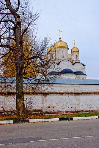 Cathedral of Nativity of Holy Virgin, Luzhetsky Monastery, Mozhaysk, Moscow Regoin.
