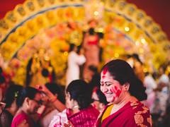 IMG_6986 (sourav008) Tags: smile canon festive 50mm mood colours magic celebration story kolkata bengal puja