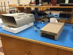 Retro gear: Fixed Commodore 1541 floppy drive (Trevdog67) Tags: drive retro 64 disk electronics floppy computing commodore 1980s diskette 1541