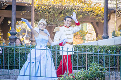 Cinderella and Prince (ThatDisneyLover) Tags: paris halloween festival october princess disneyland character disney villain villains disneylandparis dlp disneyprincess disneylandresortparis dlrp disneyvillains halloweenfestival disneylandhalloween facecharacter thatdisneylover october2015 lauraknighton lauraknightonphotography thatdisneylandlover