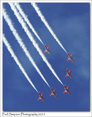 Red Arrows (Paul Simpson Photography) Tags: red airplane flying aircraft bluesky aeroplane lincolnshire planes redarrows photosof imageof imagesforsale planesinthesky photoof rafscampton imagesof november2015 sonya77 paulsimpsonphotography