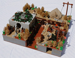 Vietnam MOC (Bansheeshee) Tags: lego vietnam minifigs moc minifigures brickarms