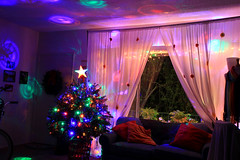 Christmas Tree 2015 (Mademoiselle Mermaid) Tags: christmas lights christmastree tinsel colorfullights