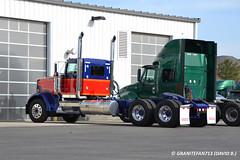 2016 Kenworth W900L Tractor (Trucks, Buses, & Trains by granitefan713) Tags: tractor kenworth largecar w900 longhood daycab trucktractor nonsleeper kenworthtruck w900l kenworthw900l