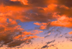 LATE AFTERNOON (conespider) Tags: blue winter sunset sky orange sun clouds outside nikon afternoon outdoor dusk reflaction 2015