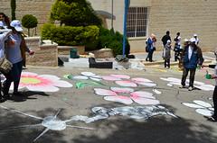 DSC_0055 (Al Ahliyya Amman University) Tags: street flowers students colors painting colorful university pretty time weekend president amman happiness jo jordan characters aau joyful       ccbysa  ahliyya          balqa      alsaro