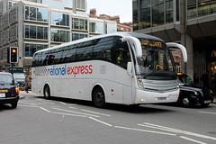 Ambassador Scania K340EB4 Caetano Levante 206 FJ09DXA on Victoria Street (Mark Bowerbank) Tags: street 206 victoria ambassador caetano scania levante k340eb4 fj09dxa