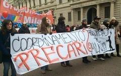 Ex dipendenti della provincia di Milano, non hanno certezze di un lavoro (Milano24ore) Tags: milano provincia precari