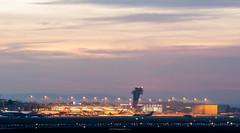 Airport (S. Varkuti) Tags: nürnberg nuremberg airport flughafen aircraft sunset sonnenuntergang 2016 sony minolta af 80200 f28 laea4 minoltaaf80200f28hsapog sonya7ii flugzeug tower flugzeuge