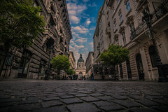Budapest (Vagelis Pikoulas) Tags: pest budapest hungary travel photo photography canon street road 6d tokina 1628mm sky clouds blue november autumn 2016 europe city capital cityscape