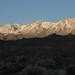 Daybreak on the eastern Sierra