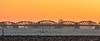 John S Thompson brug Grave met kapotte stuw (JnHkstr) Tags: grave stuw sluis brug johnsthompsonbridge johnsthompsonbrug ochtend zonsopkomst sunrise cold winter koud aanvaring