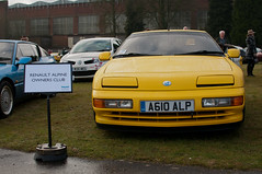 1993 Renault Alpine A610 - A610 ALP - Bicester Heritage Sunday Scramble - 8th January 2017 (Trackside70) Tags: bicester heritage sunday scramble 2017 classic cars nikond300s nikkor35mmf18 january uk renault alpine a610