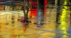 BRYAN_20161118_IMG_9955 (stephenbryan825) Tags: limestreet liverpool abstracts color graphic multicoloured pavement people rain reflection selects steps vivid walking wetpavement