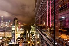 View (Katka S.) Tags: hong kong china city metropole cityscape night colour clouds water scyscraper architecture reflection eye bar fotocompetition fotocompetitionbronze fotocompetitionsilver fotocompetitiongold fotocompetitionplatinum