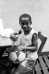Favela superstar (skamalas) Tags: kid favela brazil footballer soccer ball babylonia rio de janeiro rj