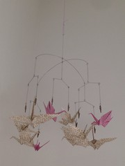 (Alice & Gattò) Tags: homedecor carta gru origami portafoto fildiferro artigianato handmade aliceegattó