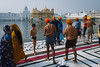 Bath is part of the pilgrimage for Sikhs (Scalino) Tags: punjab india inde golden temple sikh sikhism harmandirsahib bath bathing lake pond water tank all ages barechest underpants