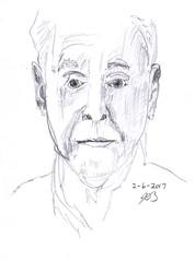 People Sketches 8 (jimblodget) Tags: self sketch portrait faces pencil people