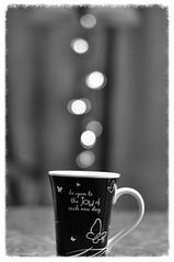 2017 (ladybugdiscovery) Tags: mug bokeh cup butterflies bw