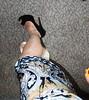 sexy despite cast (cast'n_heels) Tags: plastercast platform piedoplatre gipsbein slwc gehgips heel gesso highheel tights legs nylon