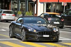 Aston Martin DBS Volante - Switzerland, Geneva (Helvetics_VS) Tags: licenseplate switzerland geneva sportcars astonmartin dbsvolante dbs